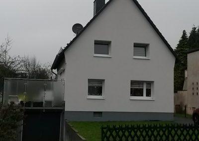 Sanierung eines Einfamilienhauses